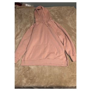 H&M Long Sleeve Hoodie with Side Slits
